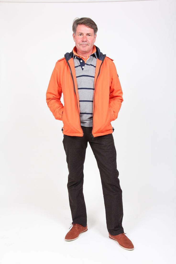 Gant jacket, rugger, pique shirt and jeans from Gant '13 autumn selection.
