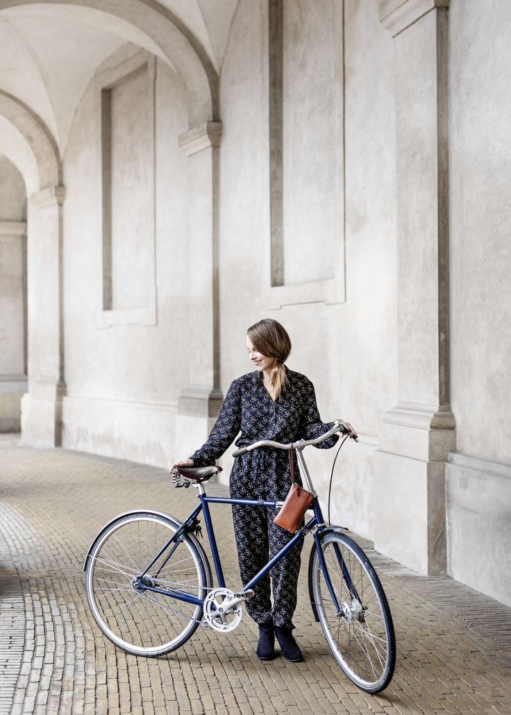 A Love Story on Two Wheels. Danish composer, Louise Alenius Boserup. Photography Chris Tonnesen.