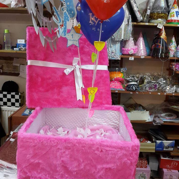 """7 Beğenme, 1 Yorum - Instagram'da @corner.kutu: """"Uçan Balon kutusu #hediyelik #hediyelikkutu #hediye #cornerkututrabzon #balonlukutu #peluşkutu"""""""