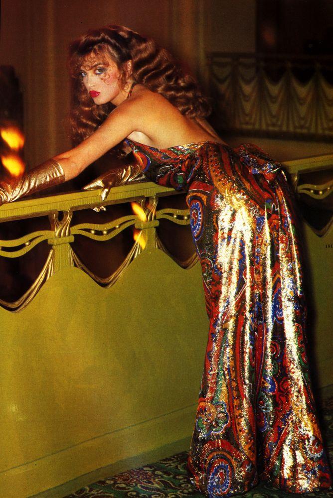 Dress by Victor Edelstein