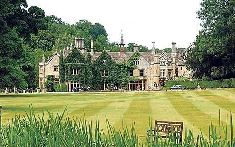 The Manor House Hotel, Castle Combe. One of my favorite places. Spent a lovely New Year's holiday there.