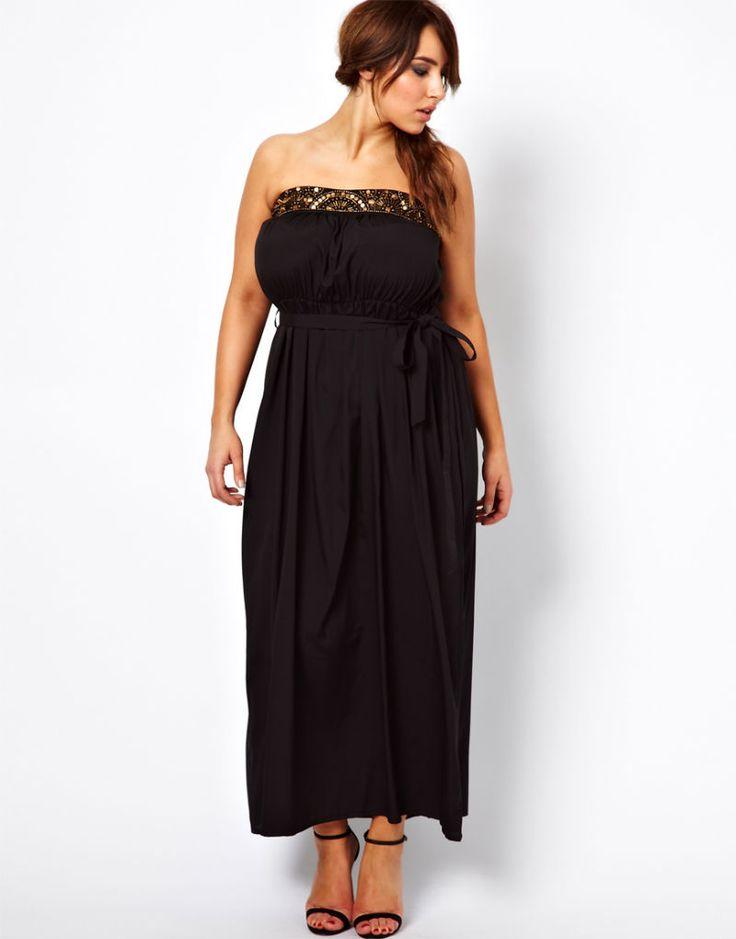 sexy kurviges Kleid