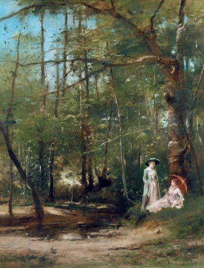 ccc Munkácsy Mihály (1844-1900) - Pataknál