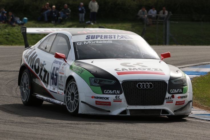 Audi RS5 of Gianni Morbidelli.  Sprint Filter P08 air filter equipped