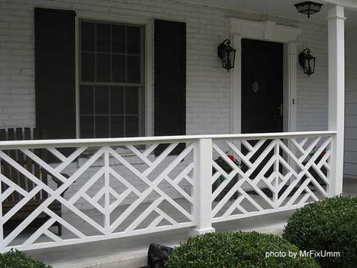 Chippendale railings