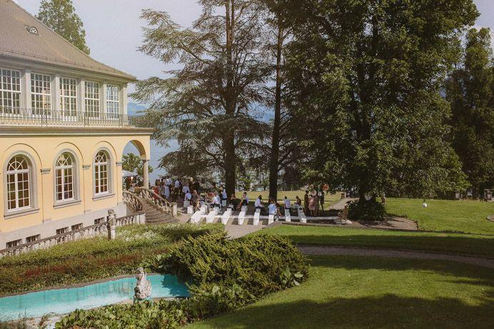 Elegante Hochzeit in Luzern