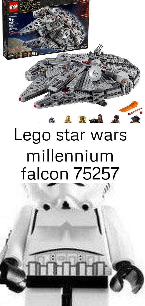 Lego Star Wars Millennium Falcon 75257 Geburtstag Junge Lego Minifigur Spielzeug Star Stormtrooper Wars Lego Star Wa Lego Star Wars Lego Star Free Lego