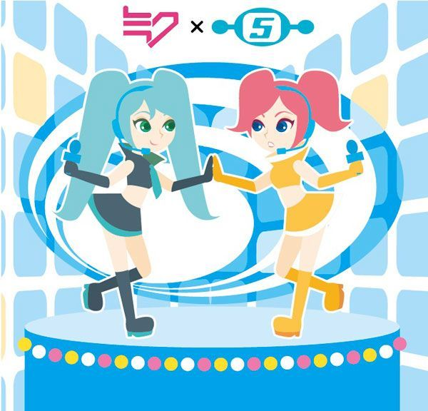 Hatsune Miku and Ulala (Space Channel 5)