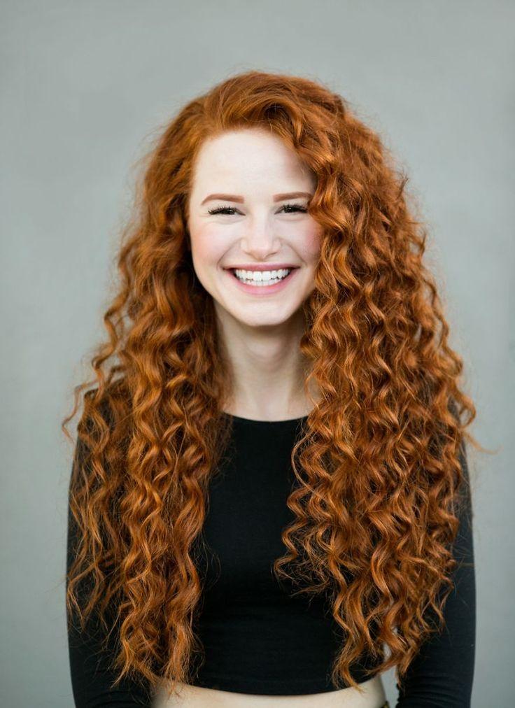A beleza do cabelo ruivo