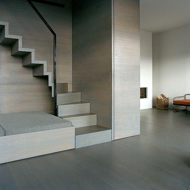 beautiful millwork/staircase: thomas bendel – wohnung braun