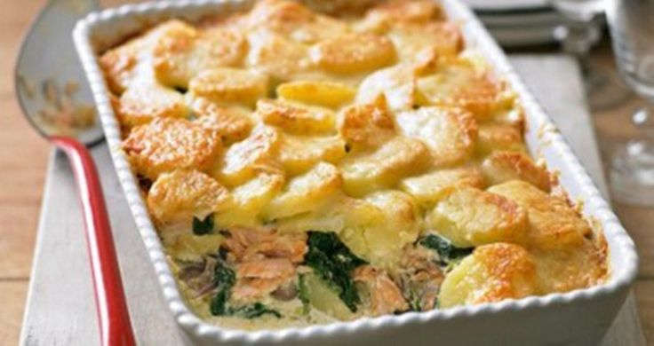 Σολομός με πατάτες στον φούρνο | Συνταγές