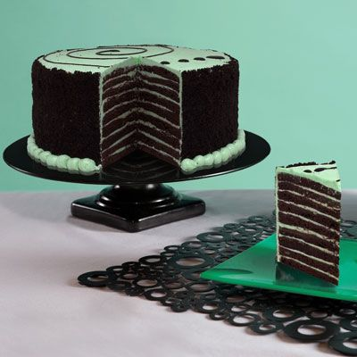 Chocolate Mint Smith Island Cake