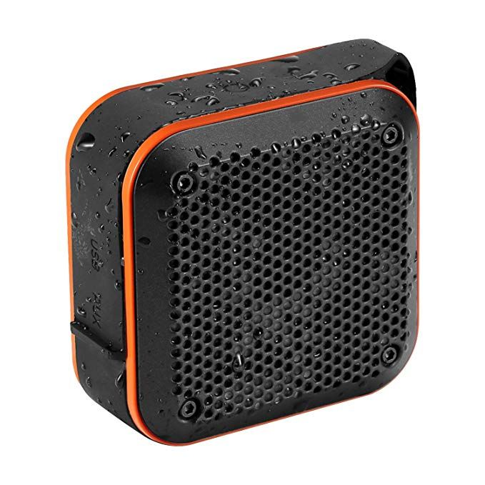Portable USB Bluetooth Speaker Waterproof Outdoor Wireless Shower Bass FM Radio