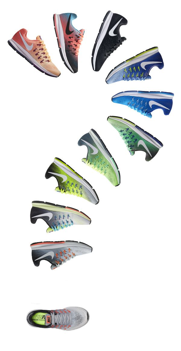 Which color will you choose? The Nike Air Zoom Pegasus 33 Women's Running Shoe…