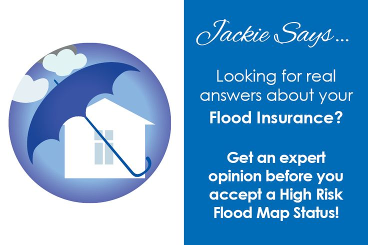 Get the facts about flood insurance!