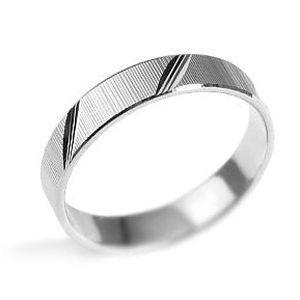 Unisex snubní stříbrný prsten L´amour BSG20520 velikost 52