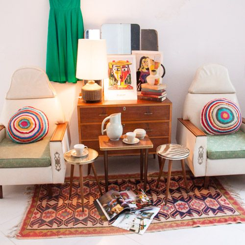 Armchairs: Pair of quirky original 50′s armchairs - Available for R 2,500.00 @ www.moregoodstuff.co.za