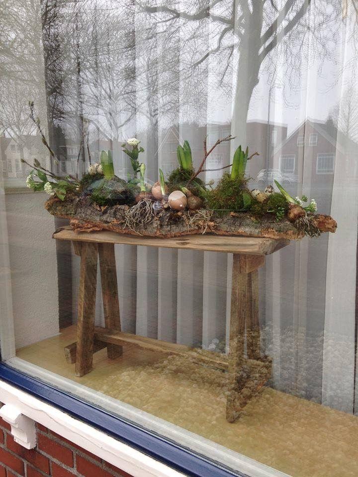 25 beste idee n over pasen boom op pinterest for Bloemen behang praxis