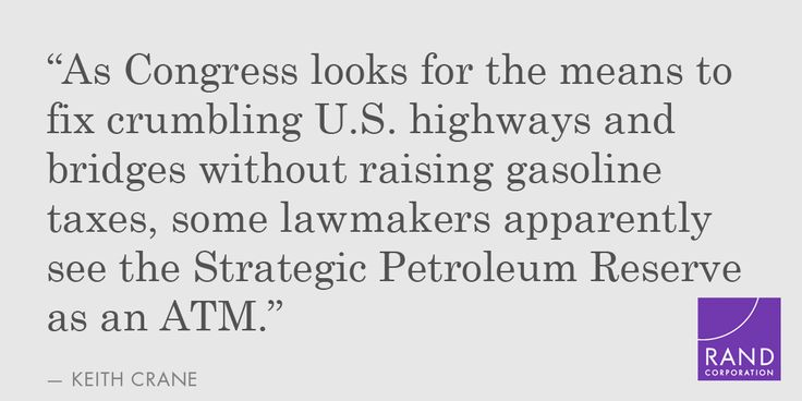 Selling #oil from the U.S. Strategic #Petroleum Reserve would be a mistake, says Keith Crane: http://on.wsj.com/1KisHf8