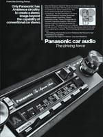 Panasonic Ambience Supreme Series 1983 Ad Picture