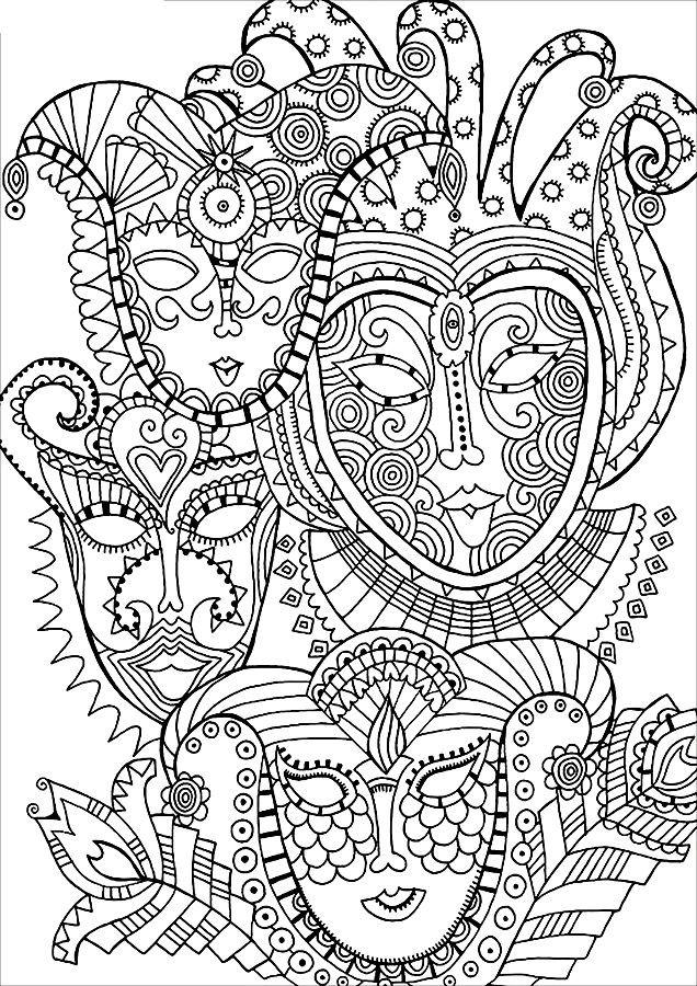 картинки для раскраски для взрослых