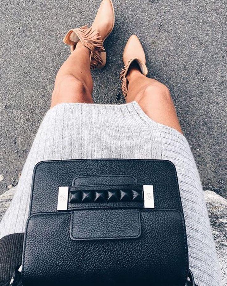The Helana bag - perfect for the stylish outfit ! http://adax.dk/tasker/helena-skuldertaske-248992-black