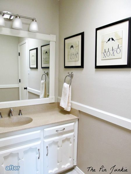The Pin Junkie: Bathroom Makeover   Reveal!