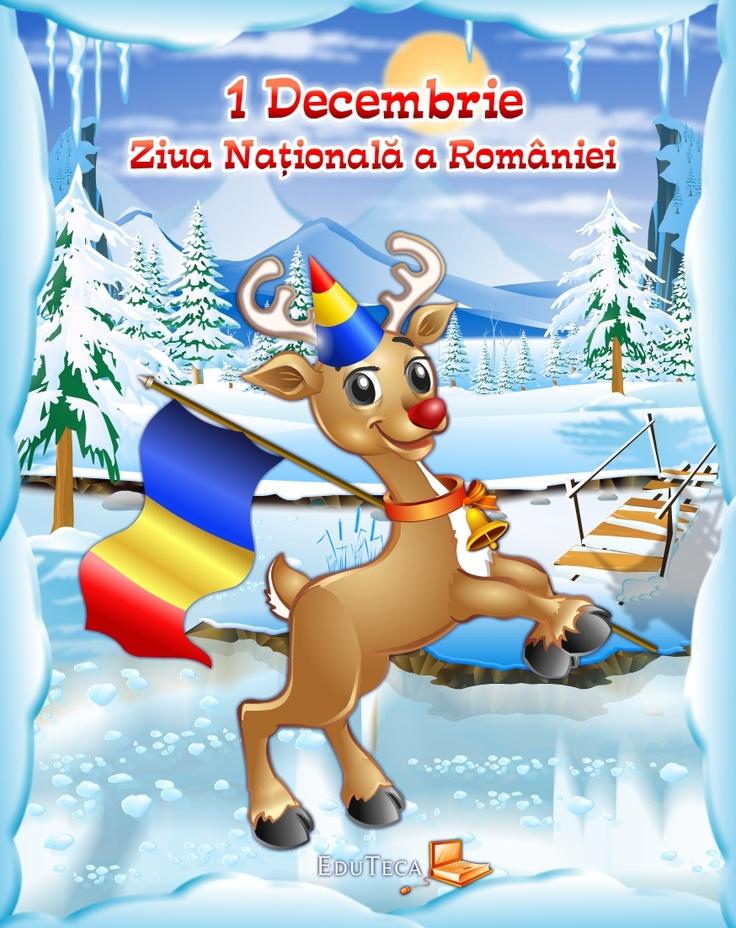 1 Decembrie, ziua naţională a României.