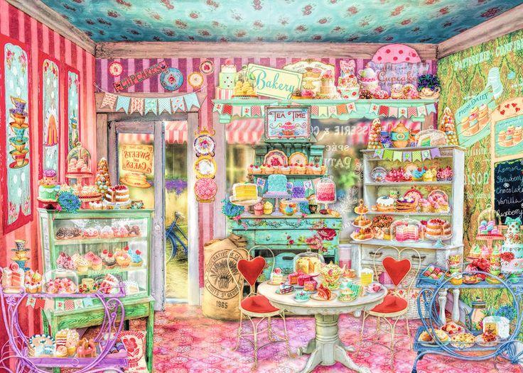 The Candy Shop | Adult Puzzles | 2D Puzzles | Shop | US | ravensburger.com