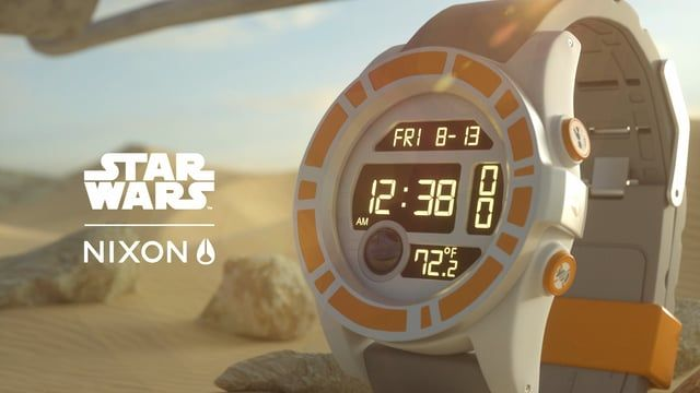Our latest spot for Nixon's release of the BB8 watch!