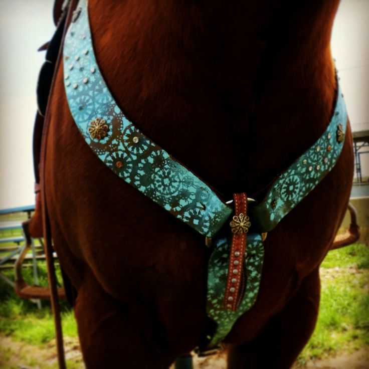 "Kahlis Creations hand painted horse tack - follow my ""horses"" board for more!"