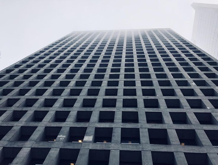 A couple hundred sets of curtains could really add some life to this otherwise dour tower. [In Vancouver coincidently a block from the Trump Hotel]