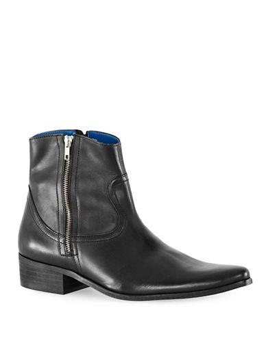 Men | Men  | Max Double Zip Leather Boots | Hudson's Bay