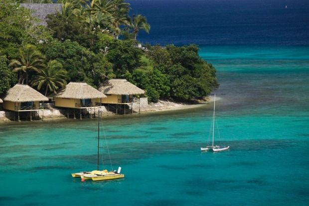 Vanuatu, Vila Bay and Iririki Island: Lend a hand by spending your tourist dollars. Most hotels and tourist activities have now reopened, meaning there's never been a better time to visit this Pacific nation and support it simply by having a good time.