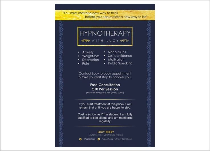 Hypnotherapy With Lucy Flyers & Leaflets designed by Printpedia.co.uk . Get in Touch with us for Flyers & Leaflets for your business.  Call us : 020 800 46 800  #flyers #design #graphicdesign #leaflets #london #kent #manchester #chelsea #bucks #miltonkeynes #shoreditch #oxfords