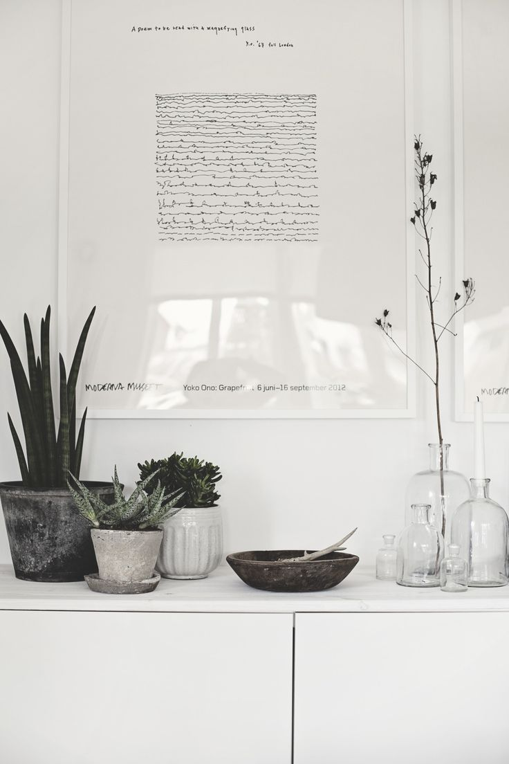 Deco with plants | Photo and styling Anna Kvarnström - Concept By Anna