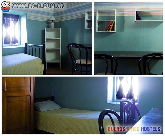 Este es el Hostel Santa Isabel en el Centro de Buenos Aires: http://www.ba-h.com.ar/santa-isabel-hostel.htm