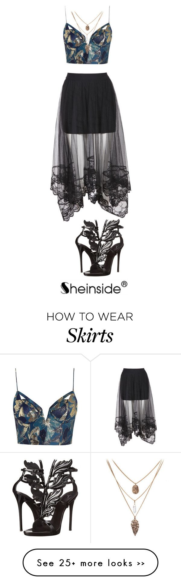 """Poison"" by tincicavk on Polyvore featuring Zimmermann and Giuseppe Zanotti"