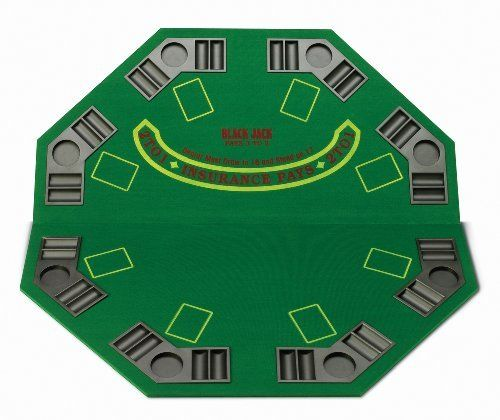 Fat Cat Poker Blackjack Folding Table Topper by Fat Cat. $55.73. Set up a friendly game wherever you go with this poker table top from GLD(r) Products. This foldable solid wood table top is designed with a colorful felt playing surface that has 8 built-in drink and poker chip holders. It can be placed on any surface and includes a convenient carry bag for storage and travel.. Save 29% Off! #money #poker