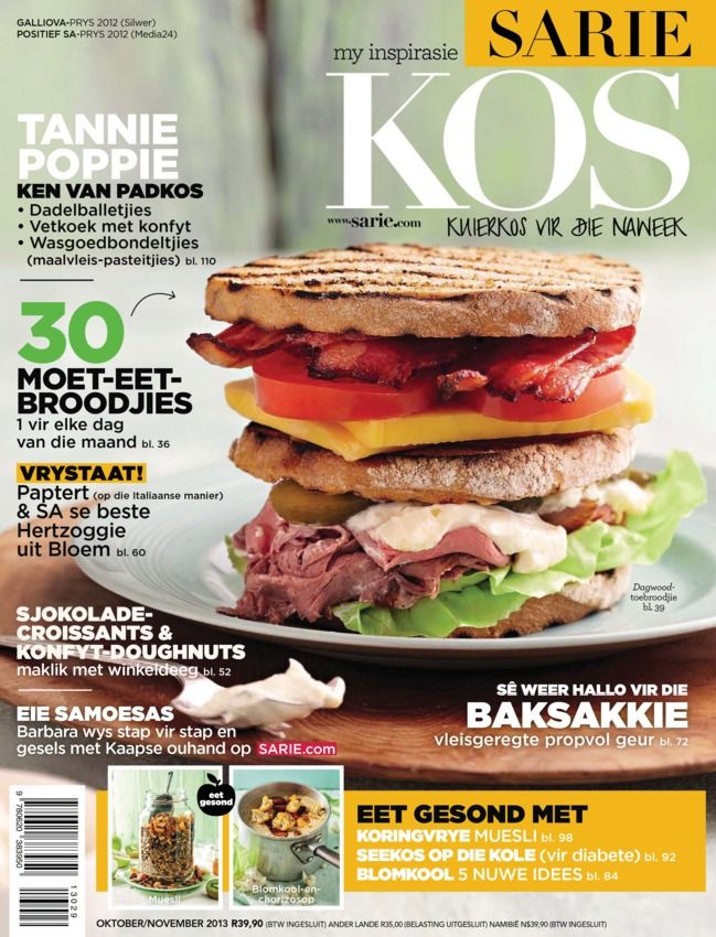 SARIE Kos Afrikaans Magazine - Buy, Subscribe, Download and Read SARIE Kos on your iPad, iPhone, iPod Touch, Android and on the web only through Magzter