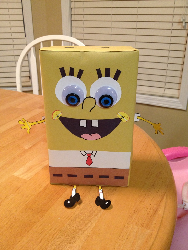 Spongebob Valentines Day Box