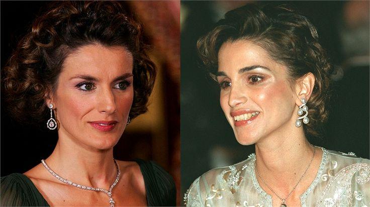 Princess Letizia and Queen Rania