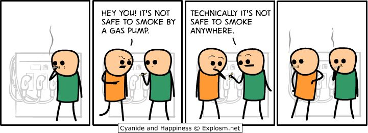 lol the truth about smoking