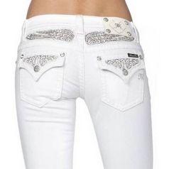 MISS ME WITTE SKINNY JEANS JP5974S4 Miss Me Jeans en Broeken | Fashionboutique Femelle
