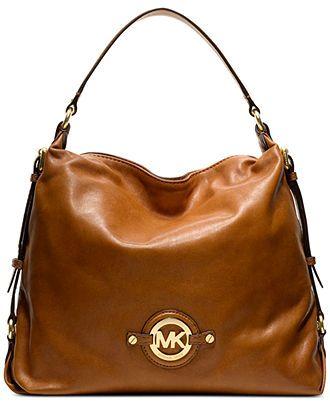 MICHAEL Michael Kors Handbag, Stockard Large Shoulder Bag - MICHAEL Michael Kors - Handbags & Accessories - Macy's