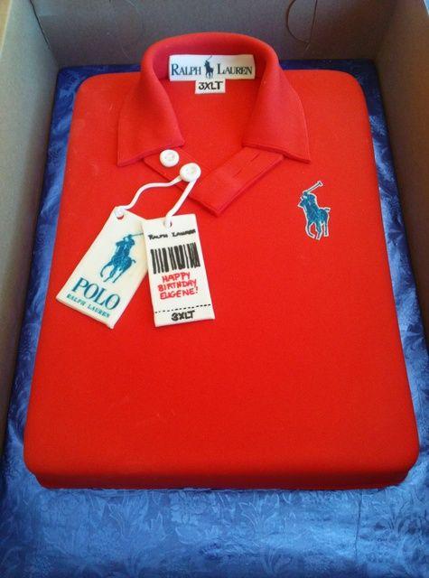 Cake Polo Shirt Design :