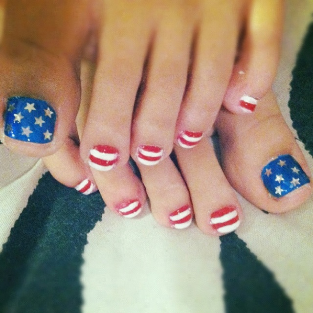 44 best independence day nail designs images on pinterest july 4th of july and memorial day nail art design prinsesfo Image collections