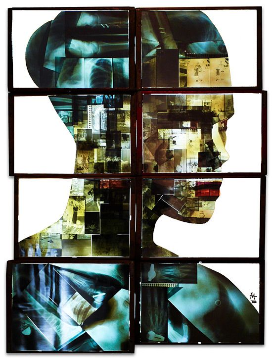 Obsolete Media Artworks by Nick Gentry   Inspiration Grid   Design Inspiration