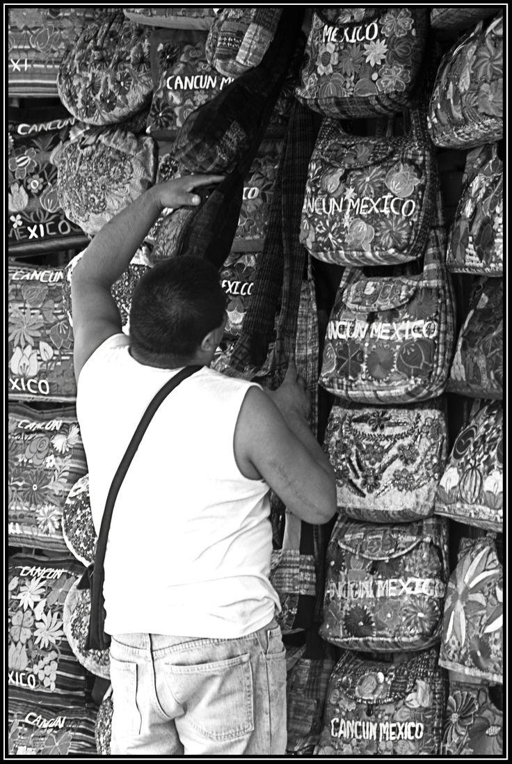 Vendedor de bolsos