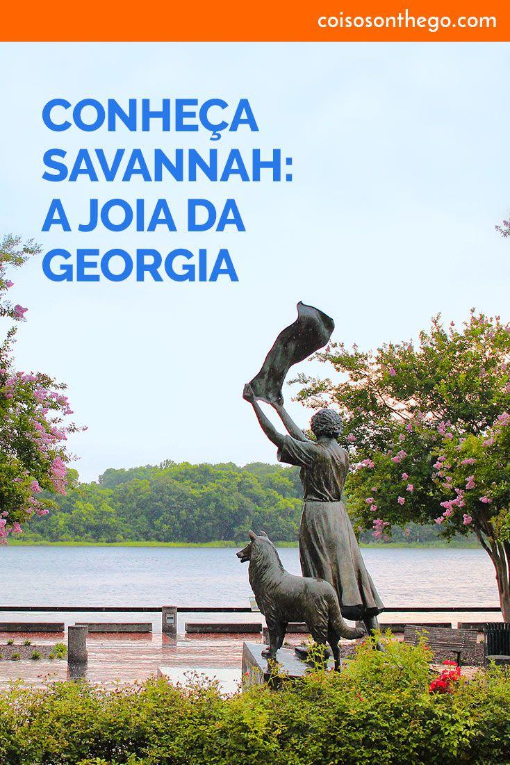 Você precisa conhecer Savannah, a joia da Georgia! Embora hoje Savannah seja mais famosa pelas cenas de Forrest Gump gravadas na cidade, ela foi também parte importante da história dos EUA, além de ser um dos mais charmosos destinos do país! A cidade está repleta de atrações, vem ver algumas das coisas para fazer em Savannah.